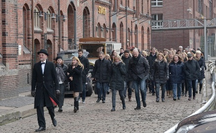 City walking tour through the HafenCity and the Speicherstadt - including the Elbphilharmonie