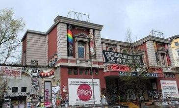 City tour Red Flora in Hamburg